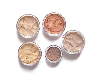 Mineral Makeup Starter Set - Light Warm