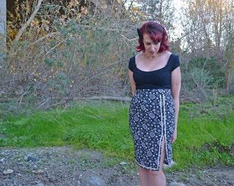 Hillbilly Honeys: 'Ava'  Side Slit Pencil  Skirt - Made to Measure