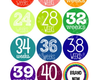 Pregnancy Belly Stickers