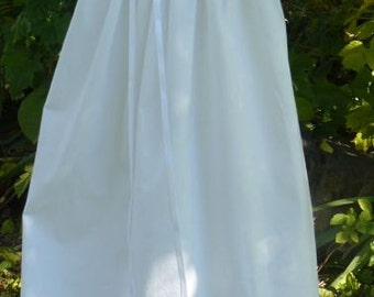 Extra Long Cotton Baptism, Christening Gown