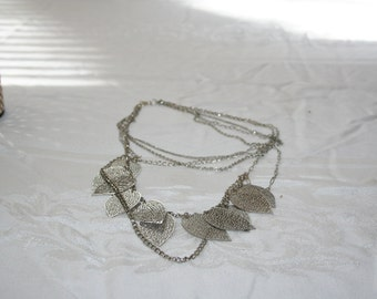 Silver/ Chain/ Necklace