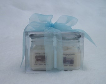 WINTER GIFT CUBE (4 soy jar candles)