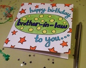 Brother-in-Law - 'Happy Birthday To You, Brother-in-Law' - Happy Birthday