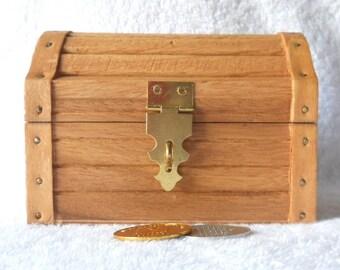 Wooden Treasure Chest - Medium