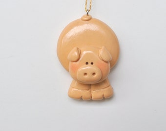 Personalized Pig Christmas Ornaments....