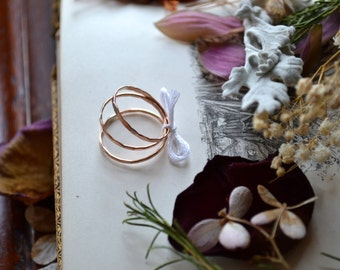 Rose Gold Fill No-See-'Em Stacker- set of 3