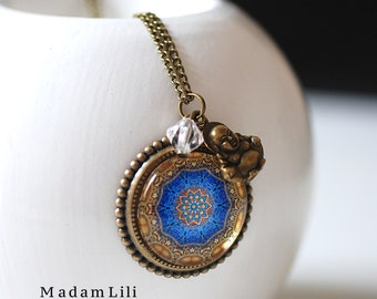 The Enlightment Bronze Necklace