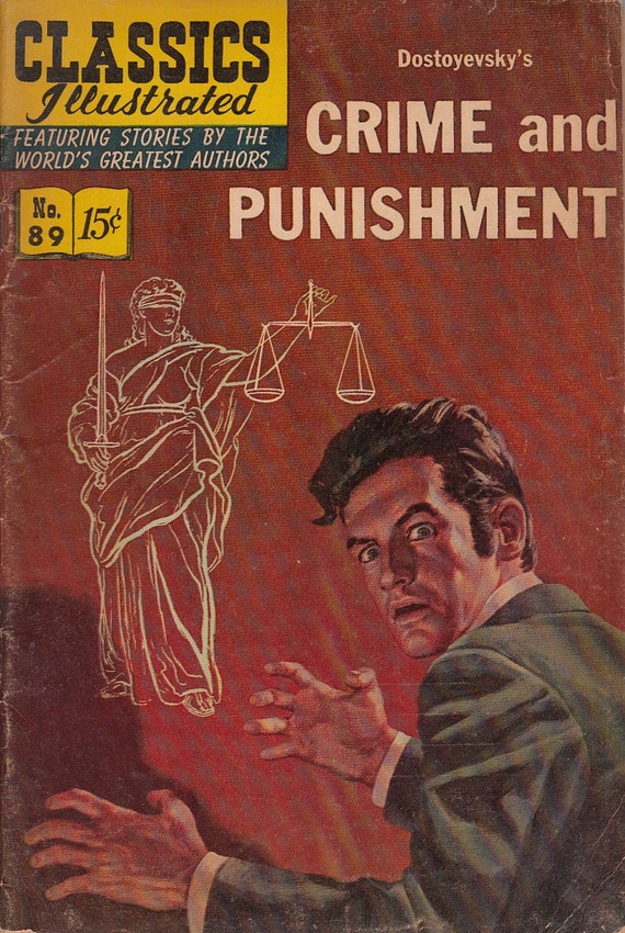 an analysis of crime and punishment by dostoevsky The 7,000 rubles he had earned from crime and punishment did not the russian literary theorist m m bakhtin's analysis of dostoevsky came to be at the.
