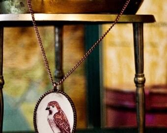sparrow pendant