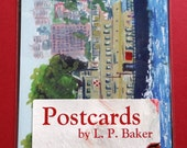 Pack of 10 assorted postcards - paintings by Australian artist L. P. Baker - sold directly by the artist!