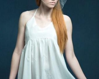 Blusher Veil, Wedding Veil, Birdcage Veil, Russian Net Veil