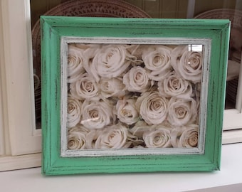MINT Hand painted picture frame