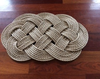 Nautical Rope Rug