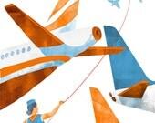 Flight Path - Fine Art Travel Print