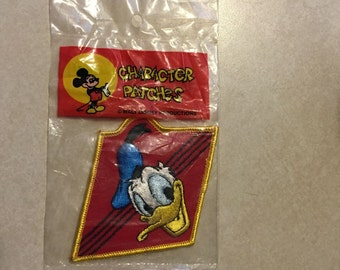 Donald Duck Disney Embroidered Character Patch