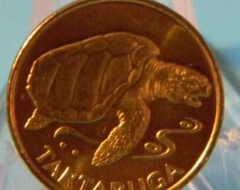 Sea Turtle Escudo Coin /  Cape Verde 1994 / Small
