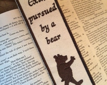 Shakespeare, Exit Pursued by a Bear Bookmark