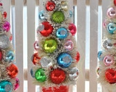 Custom Listing for Joyce.  3 Christmas bottle brush trees