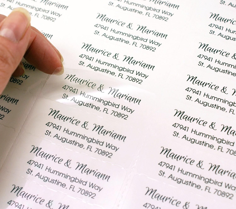 zoom - Return Address On Wedding Invitations