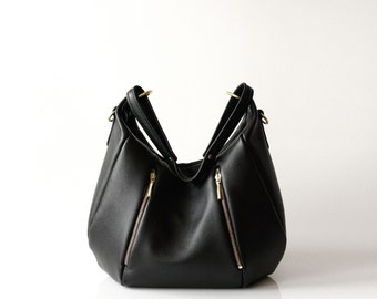 Soft Leather Handbag OPELLE Ballet Bag