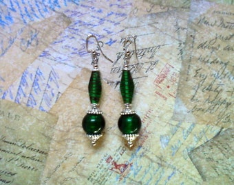 Emerald Green Earrings (2013)