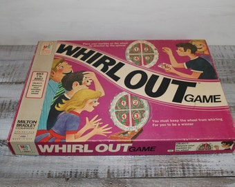 1971 Milton Bradley Whirl Out Game, Board Game