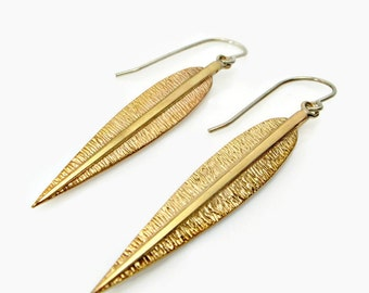 Dagger earring Bohemian earring makoy boho gypsy solid brass boho chic