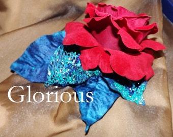 Tribal Fusion ATS Bellydance Floral Hair Clip, Glorious
