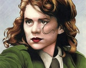 Hayley Atwell as Agent Peggy Carter - Character from Marvel Comics
