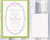 Monogram & Frame Invitation Suite