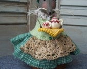 Primitive Mouse, Folk Art Mouse
