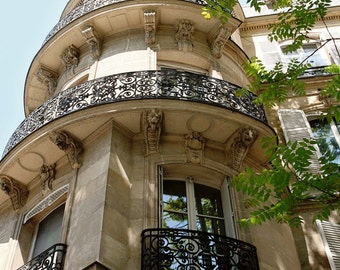 Paris Photography - Parisian Architecture Print - French Decor - Wall Art - Paris Photo - Travel Photography - Paris in Spring - Paris Art