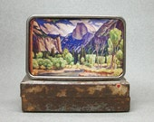 Belt Buckle Vintage Yosemite National Park California Half Dome Unique Gift for Men or Women