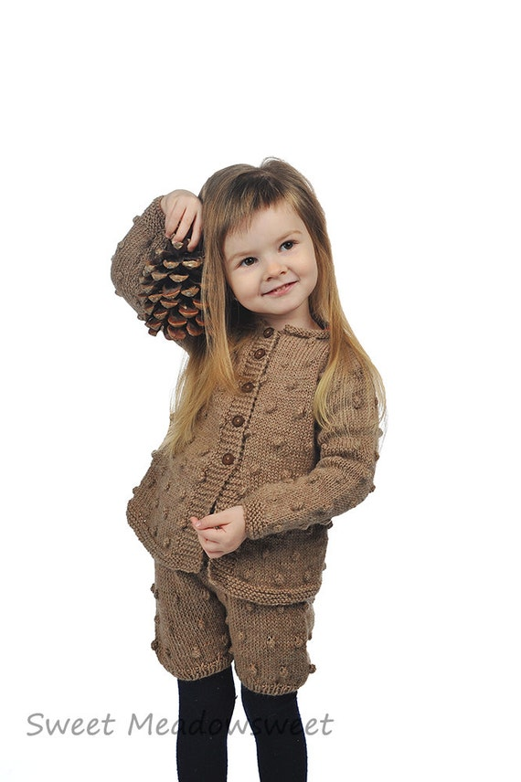 Brown Girls Toddler Sweater - Sweater Vest