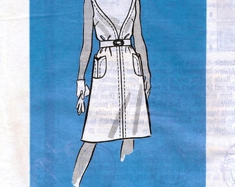 Mail Order 9343 Vintage 60s Sewing Pattern for Misses' Dress - Uncut - Size 16 - Bust 38