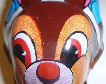 Racing Rabbit Yone Tin Friction Toy, 1950s