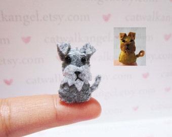 Felt Miniature - Felted Miniature dog - Felted Airedale Terrier dog - dog miniature - tiny dog - Miniature Airedale Terrier