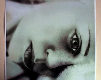 empty bed blues- art print