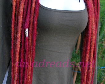 Dread lock falls in Mixed Reds