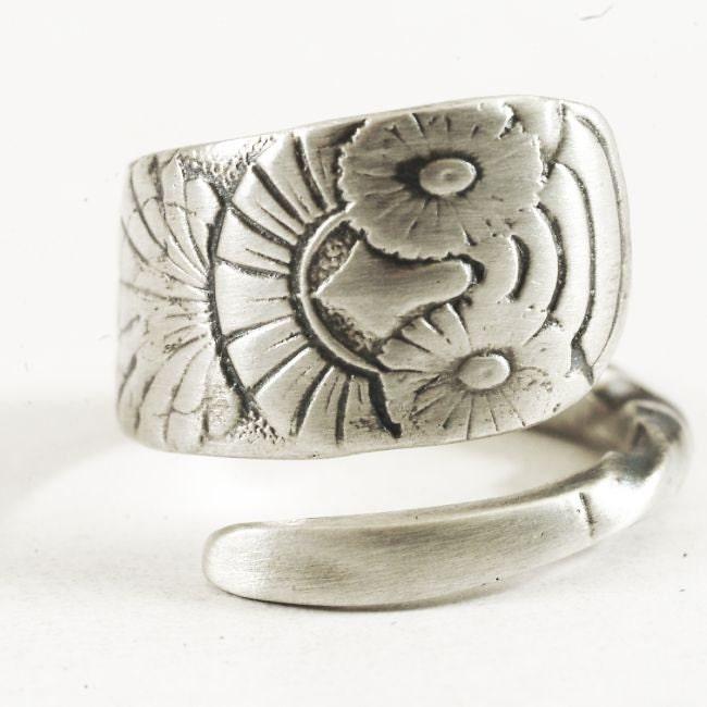 owl ring sterling silver owl ring sterling silver spoon