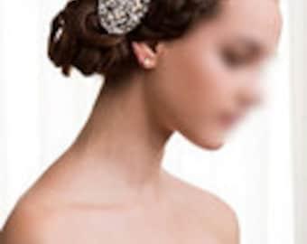 Rhinestone Bridal Hair Comb Wedding Jewelry Crystal Wedding Bridal Hair Clip CM092LX