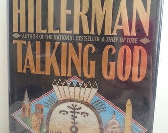 First Edition Book, Signed Book, Book Lover, Vintage Book, Old Hardcover Books, Used Books For Sale, Talking God by Tony Hillerman