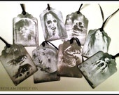 Scary Stories Gift Tags - Set of 8