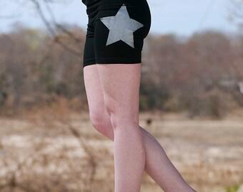 make your mark Star Yoga Shorts, Workout Shorts, Bike Shorts, S,M,L