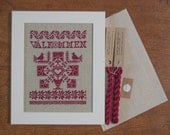 Välkommen - A Swedish Welcome Sampler - Instant Download PDF cross-stitch pattern