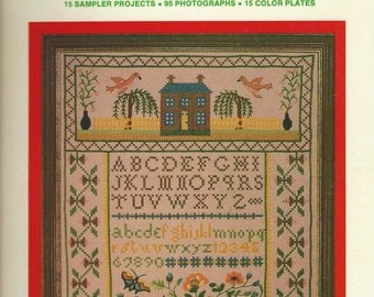 1970s The Sampler Book by Ana G. Lopo and Bruce W. Murphy Spiral Bound Complete with Transfers