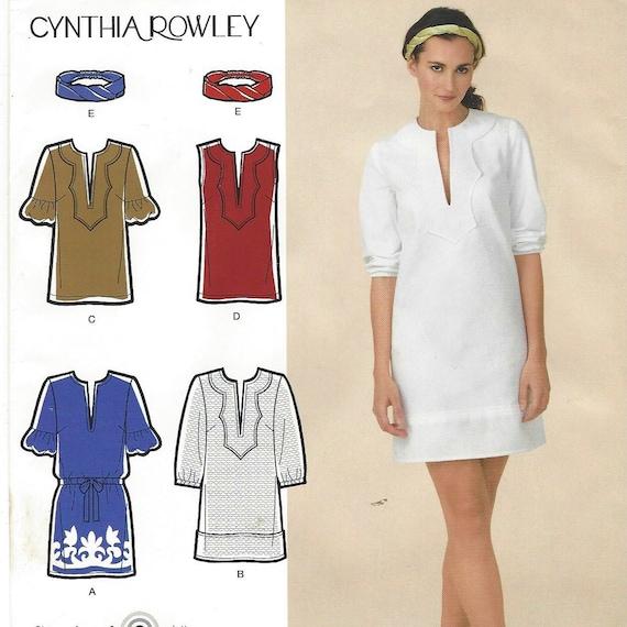 Cynthia Rowley Sewing Patterns: OOP Cynthia Rowley Simplicity Sewing Pattern 2584 Womens Dress