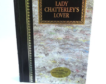 iPad Mini Book Case, Made from Lady Chatterlys Lover, Red Paisley Print Lining, Fits Kindle Fire HD7, Nexus 7, Nook Color, Galaxy Tab Too