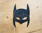 Felt Caped Crusader Photo-Booth Prop | Felt Photo-Booth Prop | Super Hero Photo-Booth | Super Hero Photo Prop