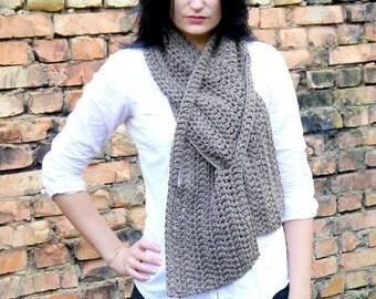 Crochet Pattern / Crochet scarf pattern / Crochet Pattern Scarf / Easy Crochet Pattern /  PDF Pattern